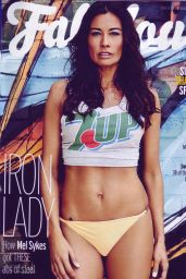 Melanie Sykes Bikini Photoshoot - Fabulous Magazine May 2015 Issue