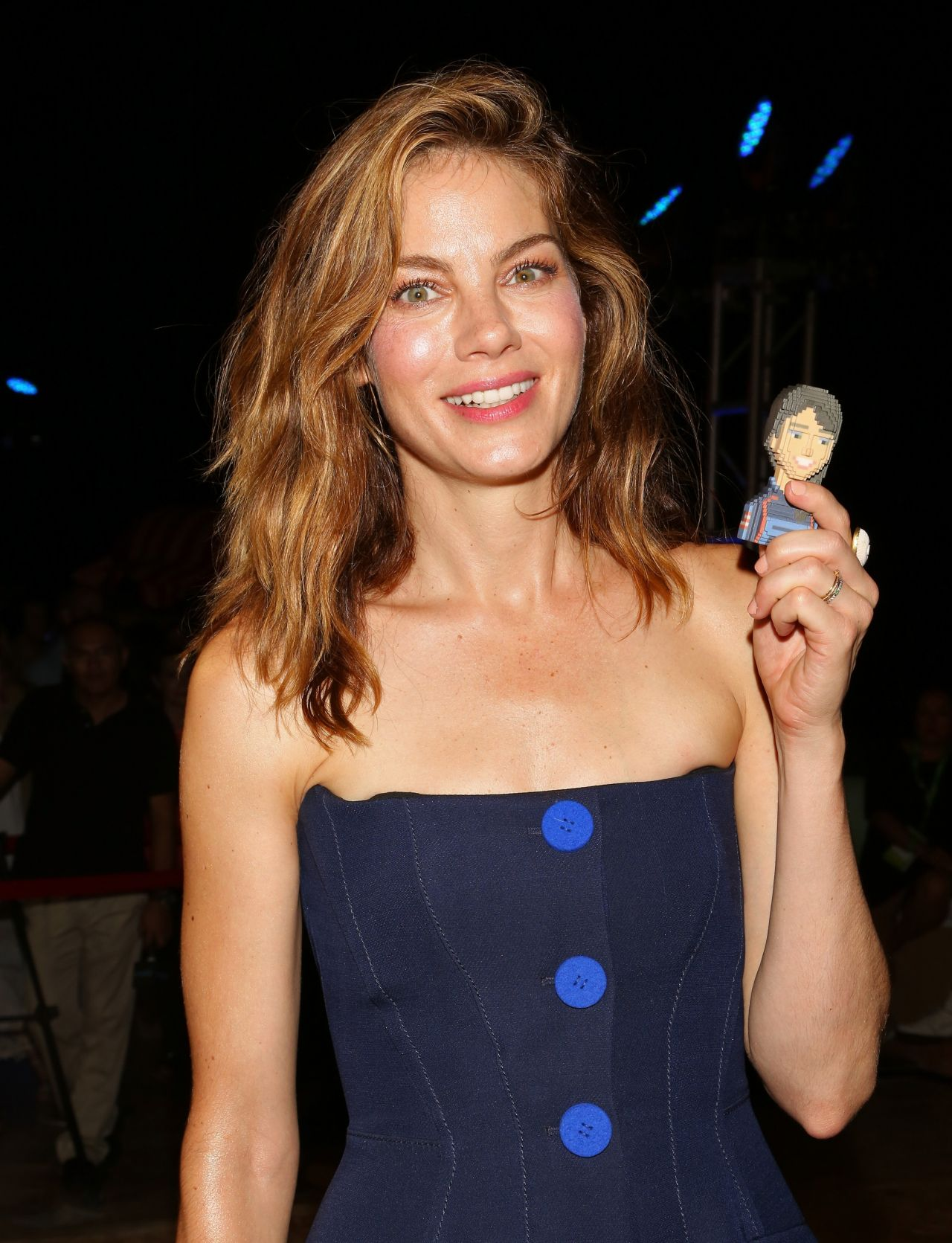 Michelle Monaghan Pixels Photocall In Cancun Mexico