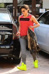 Michelle Rodriguez - After Her Workout in Los Angeles, June 2015