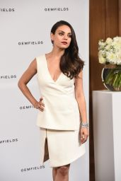 Mila Kunis - Gemfields Photo Call in London