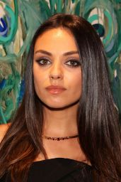 Mila Kunis Style - Faberge Cocktail Reception in London