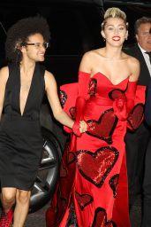 Miley Cyrus - 2015 amfAR Inspiration Gala in New York City