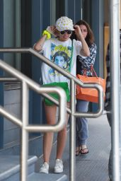 Miley Cyrus Street Style - Out in New York City, June 2015