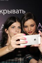 Miranda Kerr - Clear Scalp & Hair Product Launch in Moscow