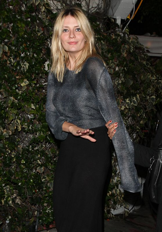 Mischa Barton at The Chateau Marmont in West Hollywood, June 21015