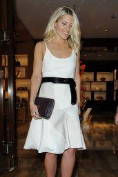 Mollie King - Louis Vuitton Launch Party in London, June 2015