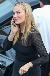 Molly Sims at a Private Party at The Brentwood Country Mart, June 2015