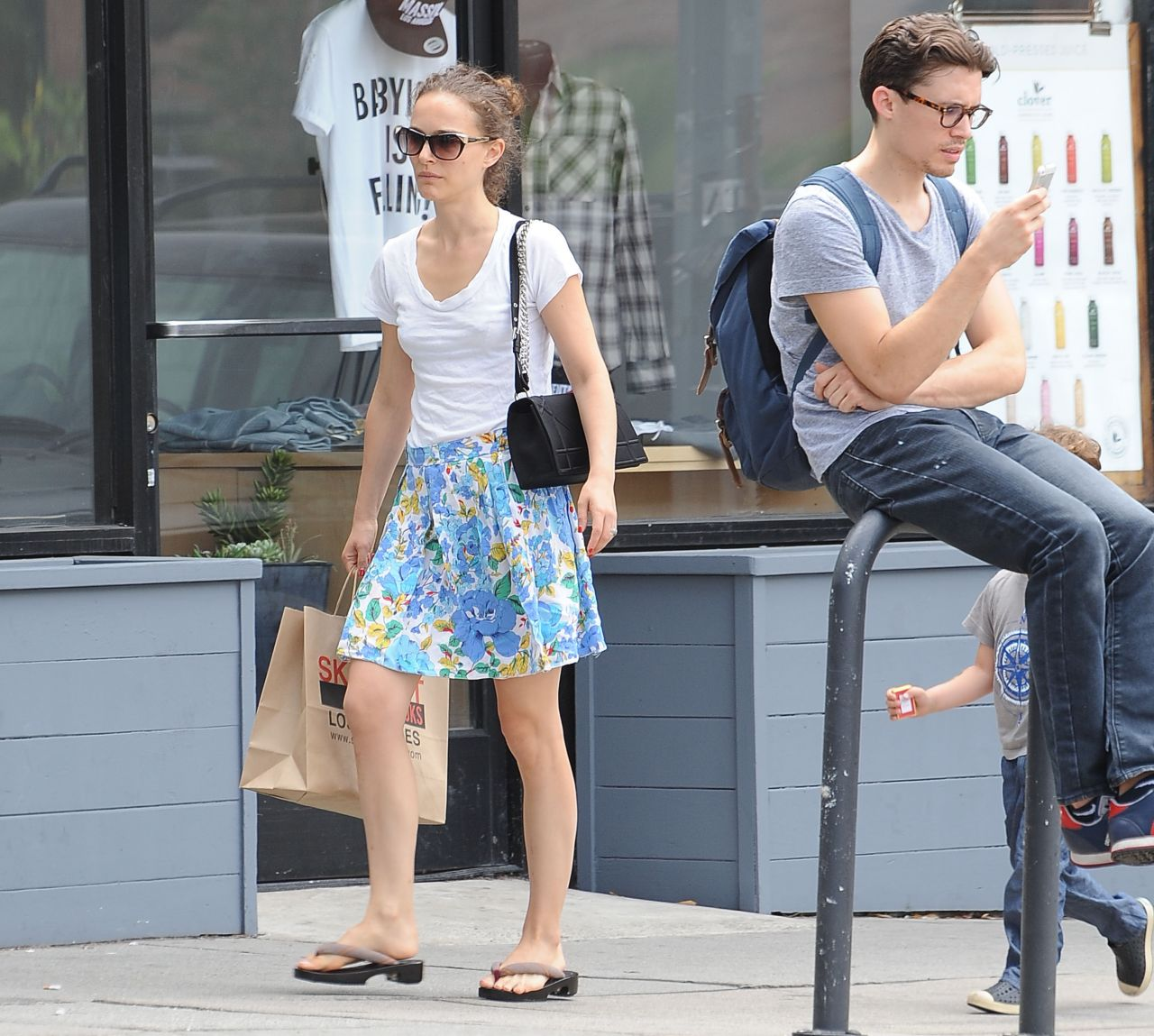 Natalie Portman Summer Style Out In La June 2015