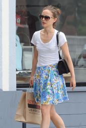 Natalie Portman Summer Style - Out in LA, June 2015
