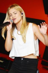 Olivia Holt in a Recording Studio in Los Angeles, June 2015