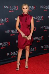 Olivia Holt - Insidious Chapter 3 Premiere in Hollywood