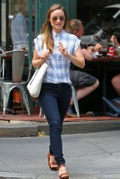 Olivia Wilde Casual Style - NYC, June 2015
