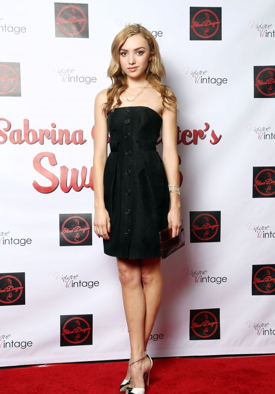 Peyton List – Sabrina Carpenter's 16th Birthday Party in Los Angeles