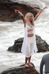 Pia Mia Perez - Shooting the Music Video of