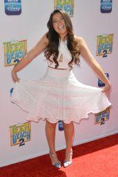 Piper Curda - Teen Beach 2 Premiere in Burbank