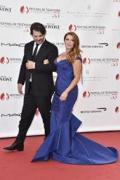 Poppy Montgomery - 55th Monte Carlo TV Festival Opening Ceremony at the Grimaldi Forum