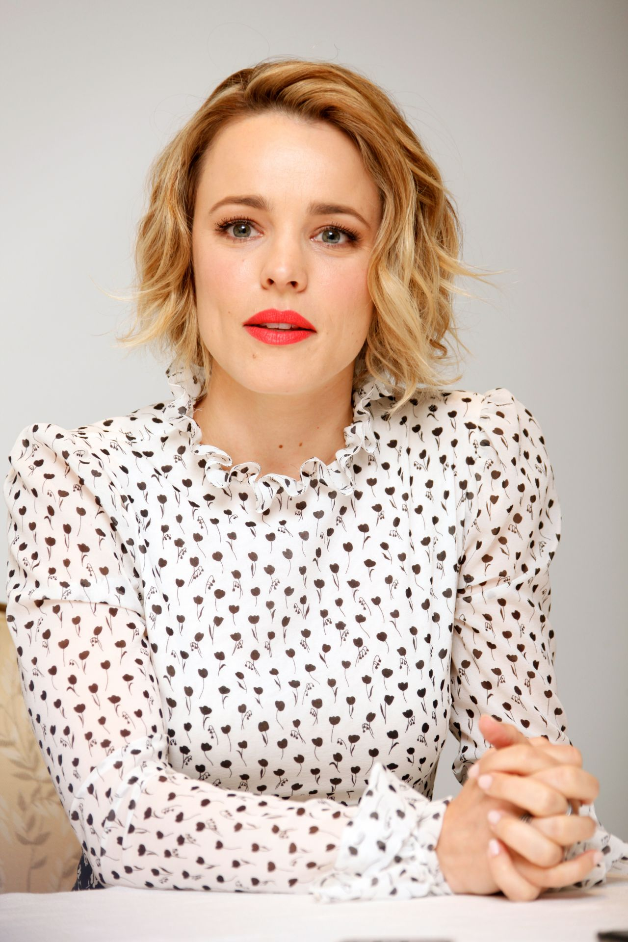 Rachel McAdams – True Detective Press Conference in Beverly Hills