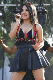 Rebbeca Marie Gomez Performs at LA Pride 2015 at Christopher Street West in West Hollywood