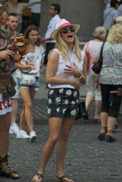 Reese Witherspoon - Sightseeing in Rome, Italy , June 2015