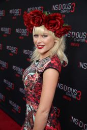 Renee Olstead - Insidious Chapter 3 Premiere in Hollywood