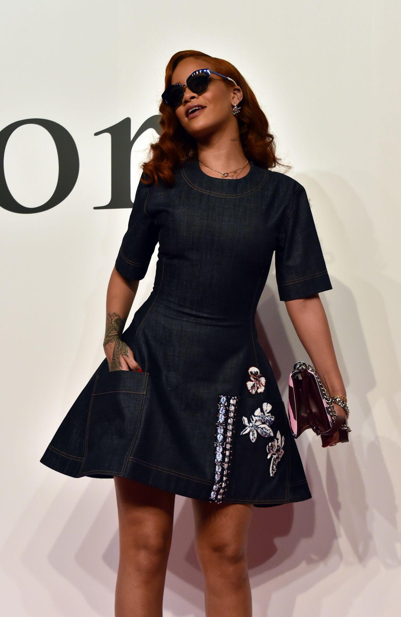 Rihanna Dior Fashion Show In Tokyo June 2015