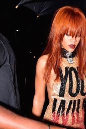 Rihanna Hot Style - Out in New York City, May 2015