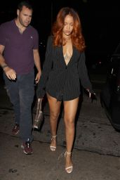 Rihanna Night Out Style - Los Angeles, June 2015