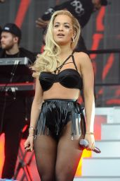 Rita Ora Performs at New Look Wireless Birthday Party at Finsbury Park in London