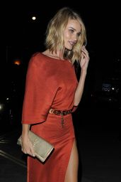 Rosie Huntington-Whiteley at the Chiltern Firehouse in London, June 2015