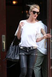 Rosie Huntington-Whiteley Casual Style - Out in NYC, June 2015