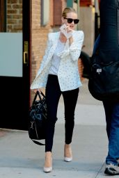 Rosie Huntington-Whiteley Style - Out in NYC, June 2015