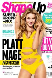 Rosie Huntington-Whitely - Swedish ShapeUp Magazine - June 2015