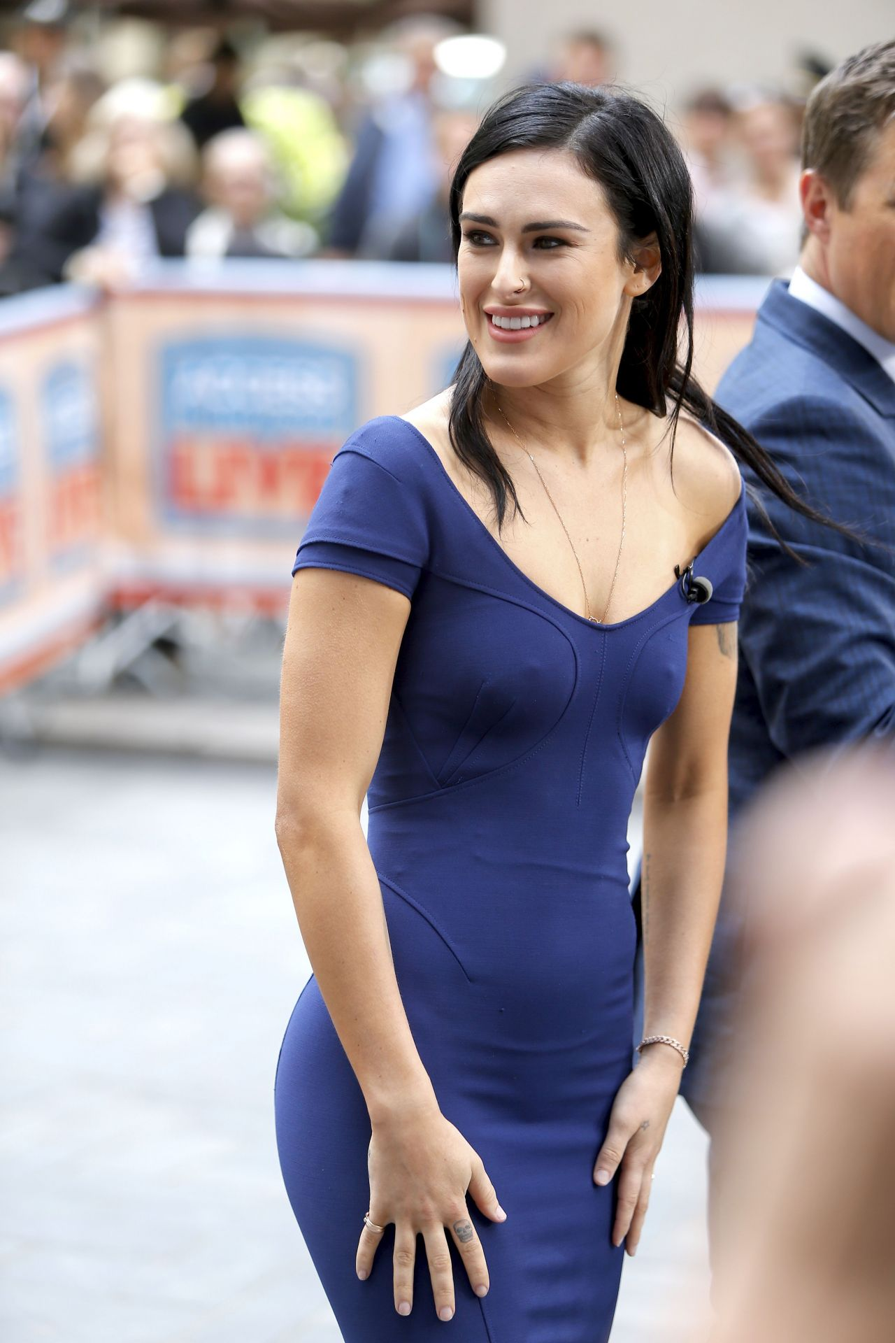Rumer Willis - Access Hollywood Live In New York City -8632