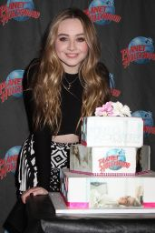 Sabrina Carpenter - Planet Hollywood Times Square in NYC, June 2015
