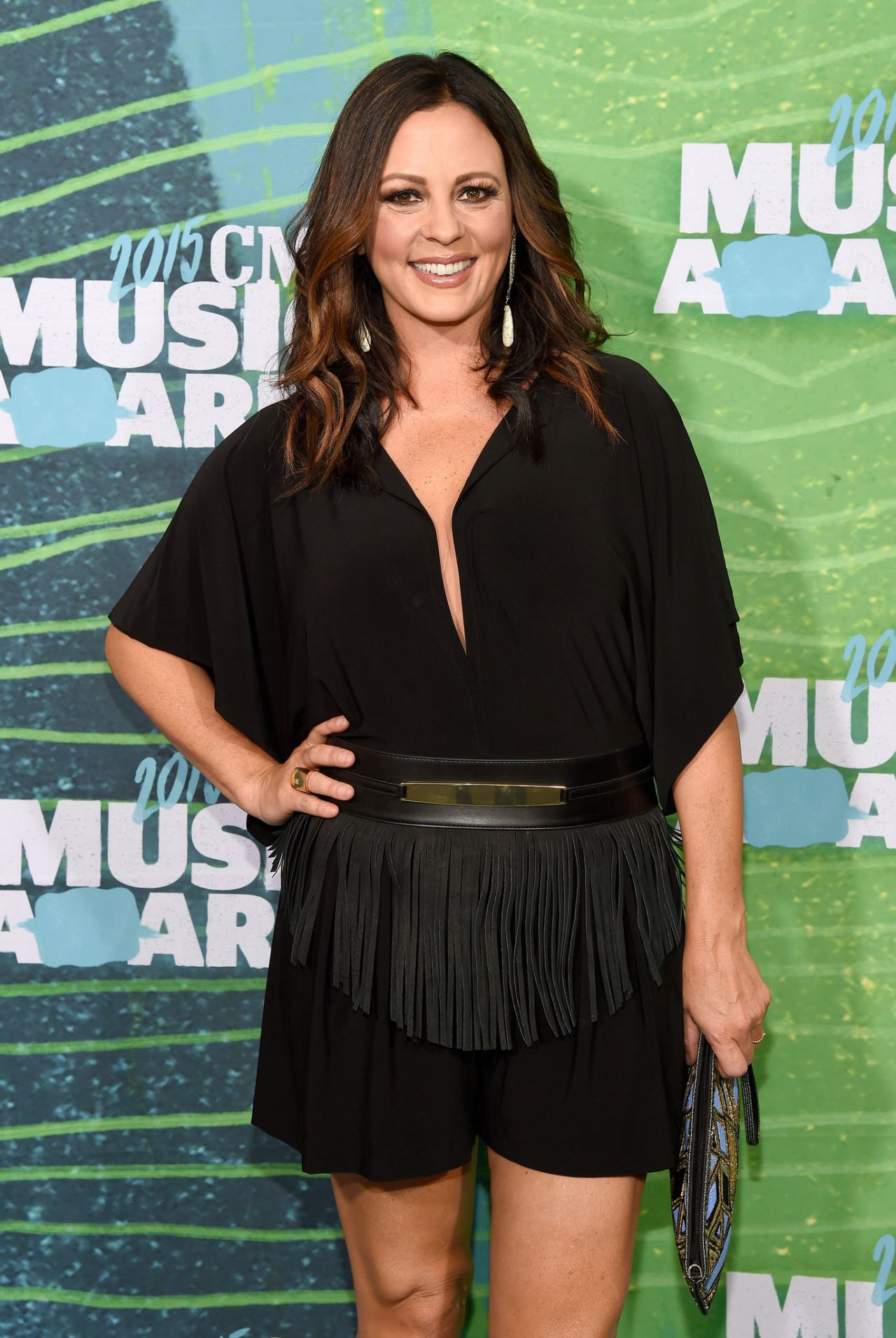 Sara Evans 2015 Cmt Music Awards At The Bridgestone