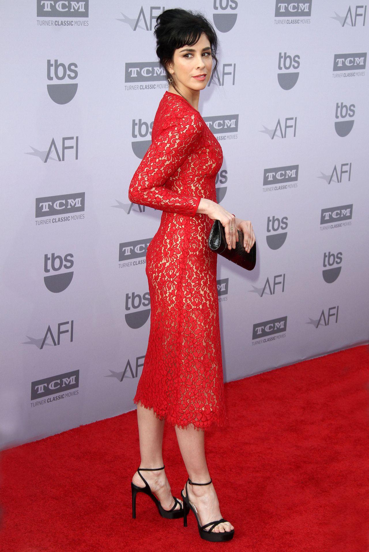 Sarah Silverman 2015 Afi Life Achievement Awards In