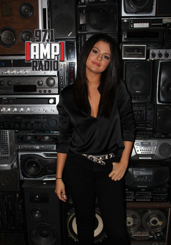 Selena Gomez - 97.1 AMP RADIO, June 2015