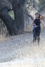 Selena Gomez Booty in Tights - Hiking in Hollywood Hills, June 2015