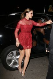 Sophia Bush Night Out Style - at the Chateau Marmont in West Hollywood, June 2015