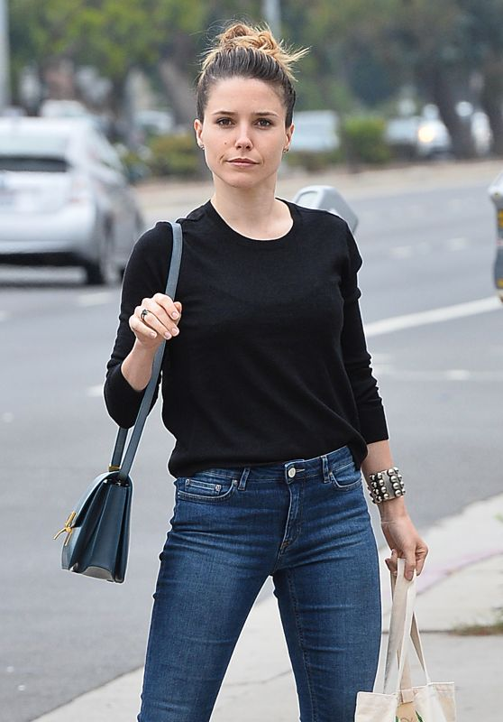 Sophia Bush Street Style - Out in Venice, June 2015