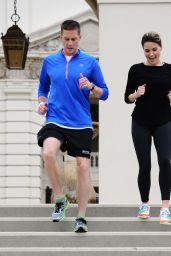 Sophia Bush - Weston 5K Run in Pasadena, June 2015