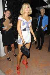 Sophie Monk Style - at Gracias Madre Restaurant in West Hollywood, June 2015