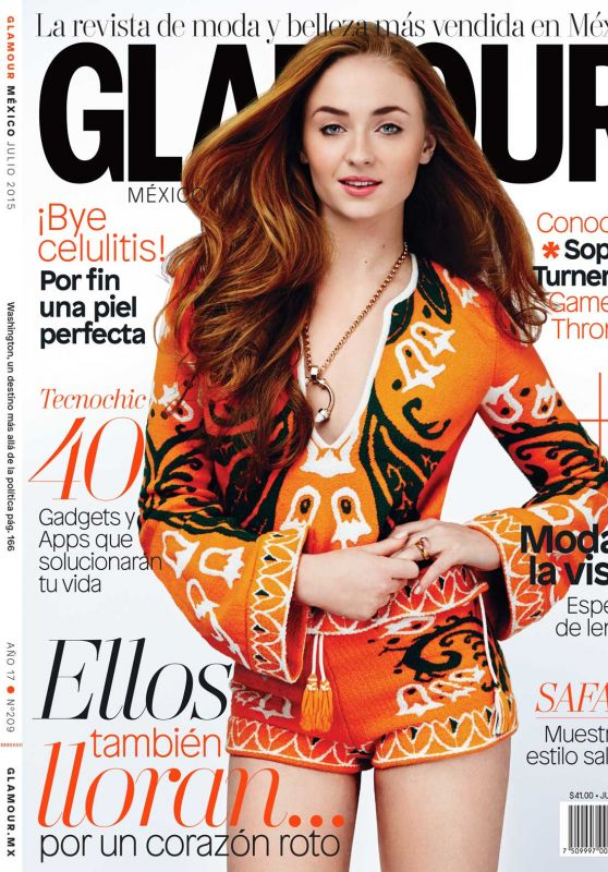 Sophie Turner - Glamour Magazine Mexico June 2015