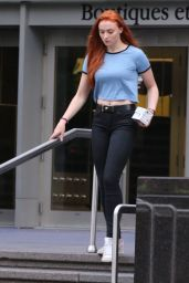Sophie Turner Street Style - Out in Montreal, June 2015