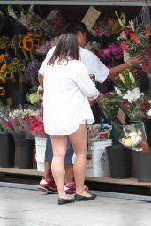 Stella Hudgens Street Style - Soho in NYC, June 2015