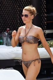 Stephanie Waring and Jude Cisse - in a Bikini in Marbella, Spain - June 2015