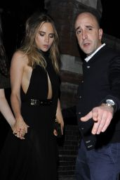 Suki Waterhouse at the Chiltern Firehouse in London, June 2015