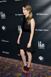 Taissa Farmiga - The Final Girls Screening at LA Film Festival