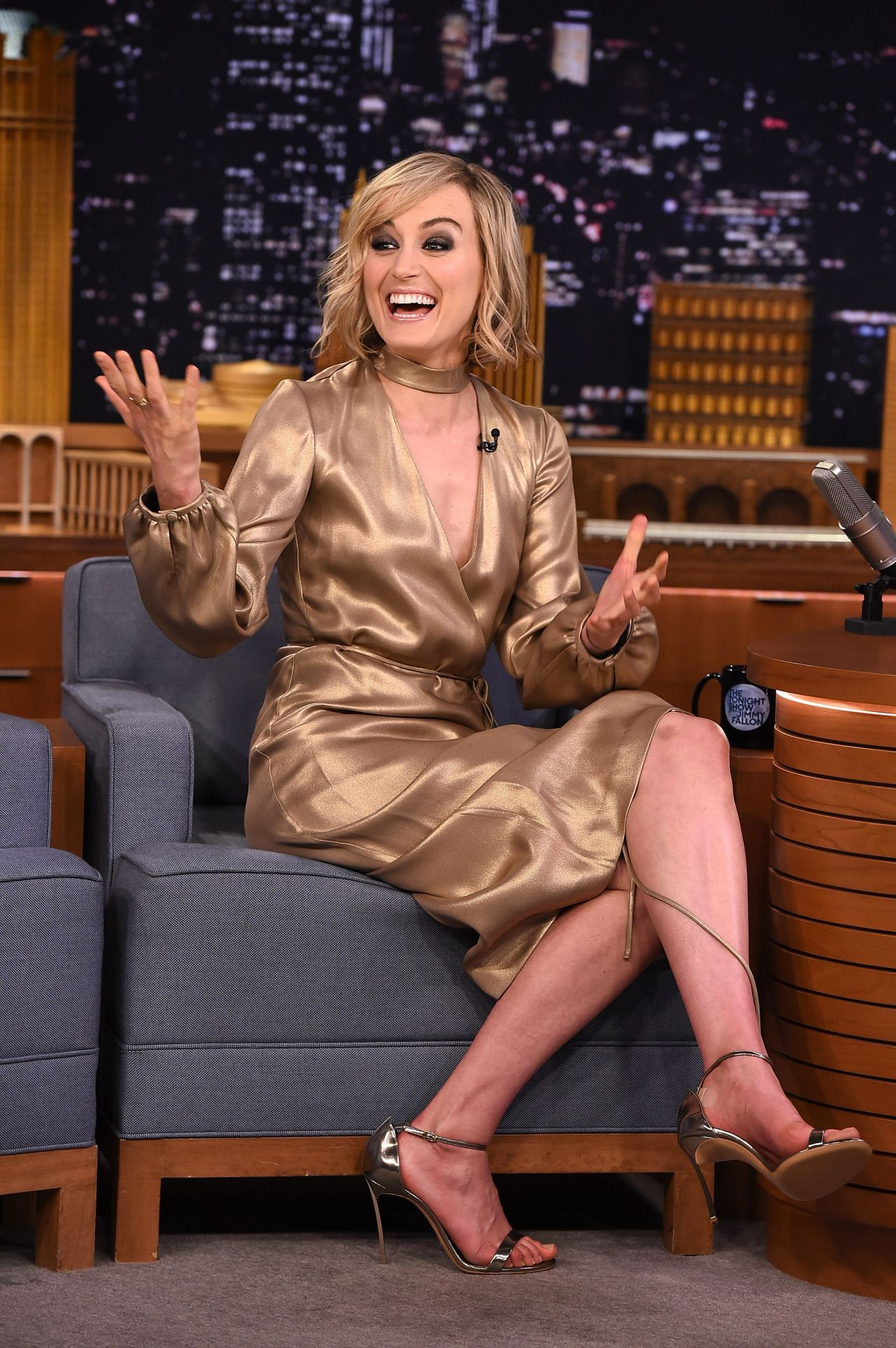 Taylor Schilling The Tonight Show Starring Jimmy Fallon