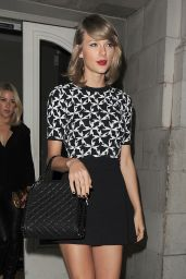 Taylor Swift and Ellie Goulding Night Out Style - London, June 2015